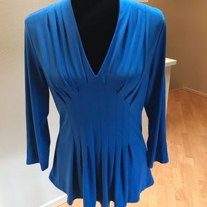 💙Catherine Malandrino Blue Long Sleeve Top